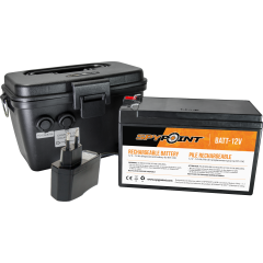 BATTERIE 12V SPYPOINT - CHARGEUR ET BOITIER