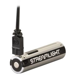KIT DE 2 BATTERIES RECHARGEABLES 18650 STREAMLIGHT AVEC CORDON