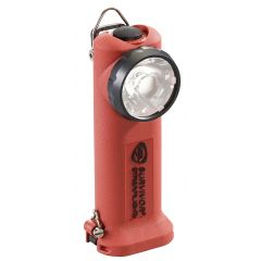 LAMPE STREAMLIGHT SURVIVOR LED ATEX - AVEC PRISE 12V DC CHARGE RAPIDE - ORANGE